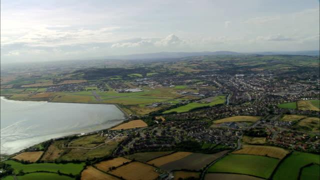 Newtownards Airfield  - Aerial View - Northern Ireland, United Kingdom