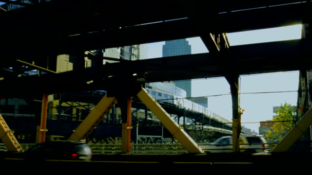 New-York View at railroad from highway
