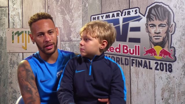 neymar speaks of moving on from the world cup handling criticism and the pressures of being a footballer in an afp interview after the redbull neymar... - neymar da silva stock-videos und b-roll-filmmaterial
