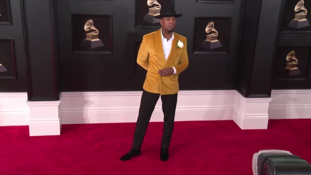 NeYo at 60th Grammy Awards Celebration Party at Madison Square Garden on January 28 2018 in New York City