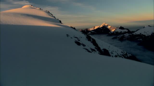 low aerial, ngapunatoru pass, fiordland national park, new zealand - new stock videos & royalty-free footage