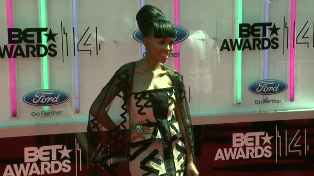 nhlanhla nciza at the 2014 bet awards on june 29 2014 in los angeles california - bet awards stock videos and b-roll footage