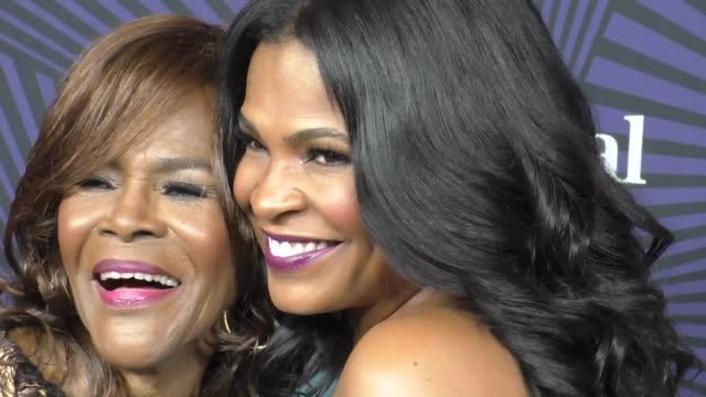 nia long and cicely tyson at the bet 2017 american black film festival honors awards at the beverly hilton hotel on february 17 2017 in beverly hills... - nia long stock videos and b-roll footage