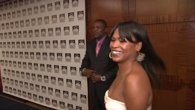 nia long and mekhi phifer at the thurgood marshall college fund's 21st anniversary award gala at new york ny - nia long stock videos and b-roll footage