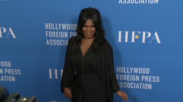 nia long at hollywood foreign press association's grants banquet in los angeles ca - nia long stock videos and b-roll footage