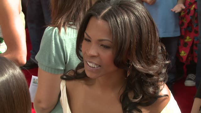 nia long at the 'are we done yet' premiere at the mann village theatre in westwood california on april 1 2007 - nia long stock videos and b-roll footage