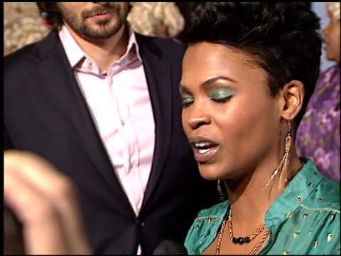 nia long at the big momma's house 2 premiere at grauman's chinese theatre in hollywood california on january 25 2006 - nia long stock videos and b-roll footage