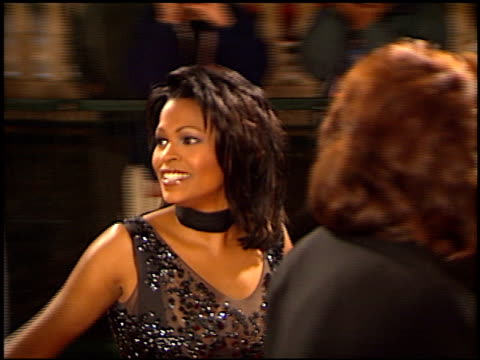 nia long at the naacp image awards at pasadena civic auditorium in pasadena california on february 12 2000 - nia long stock videos and b-roll footage