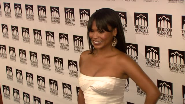 nia long at the thurgood marshall college fund's 21st anniversary award gala at new york ny - nia long stock videos and b-roll footage