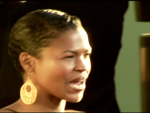 nia long at the 'waist deep' premiere at the cinerama dome at arclight cinemas in hollywood california on june 15 2006 - nia long stock videos and b-roll footage
