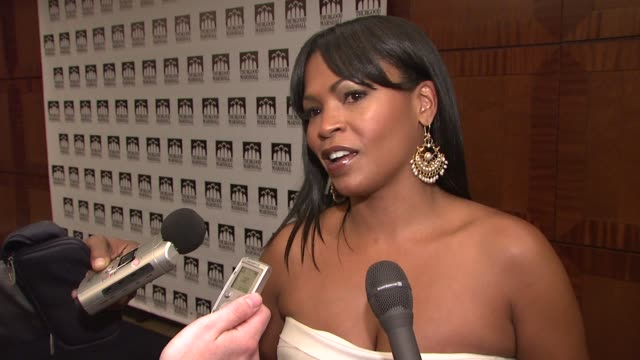 nia long on jennifer hudson's family tragedy on herself being raped in high school at the thurgood marshall college fund's 21st anniversary award... - nia long stock videos and b-roll footage