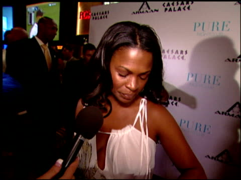 nia long on owning a great watch at the armaan watches vip launch party at pure in las vegas nevada on june 2 2007 - nia long stock videos and b-roll footage