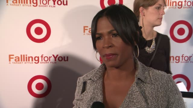 nia long on target making falling for you a success on kristen bell being funny at target falling for you event at terminal 5 on october 10 2012 in... - nia long stock videos and b-roll footage