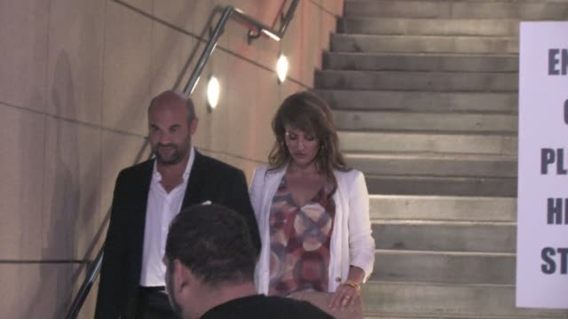 nia vardalos and ian gomez at the 'larry crowne' premiere in hollywood on 6/27/2011 - nia vardalos stock videos and b-roll footage