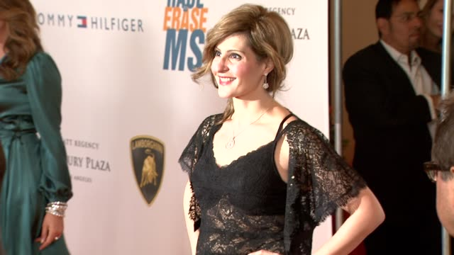nia vardalos at the 16th annual race to erase ms themed 'rock to erase ms' at los angeles ca - nia vardalos stock videos and b-roll footage