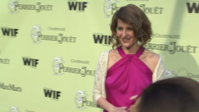 nia vardalos at the 2nd annual women in film preoscar cocktail party at los angeles ca - nia vardalos stock videos and b-roll footage