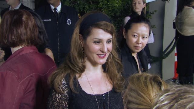 nia vardalos at the elle green event at boulevard 3 in los angeles california on april 5 2007 - nia vardalos stock videos and b-roll footage