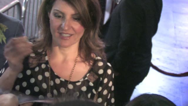 nia vardalos at the 'scream 4' after party in hollywood on 4/11/11 - nia vardalos stock videos and b-roll footage