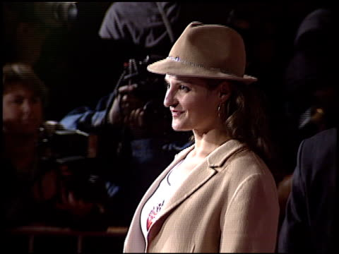 nia vardalos at the 'shanghai knights' premiere at the el capitan theatre in hollywood california on february 3 2003 - nia vardalos stock videos and b-roll footage