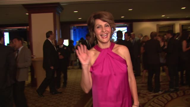 nia vardalos at the the national multiple sclerosis society's 35th annual dinner of champions at century city ca - nia vardalos stock videos and b-roll footage