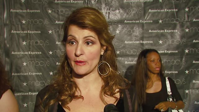 Nia Vardalos on why she's in attendance her fashion indulgence what she would do with a $5000 AmEx gift card at the Macy's Passport Gala 2006 at...