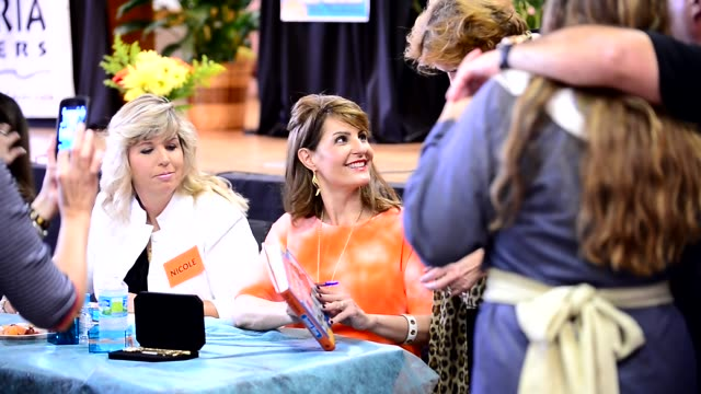 nia vardalos promotes and signs copies of her book 'instant mom' nia vardalos promotes and signs copies of her book at st demetrios greek orthodox... - nia vardalos stock videos and b-roll footage