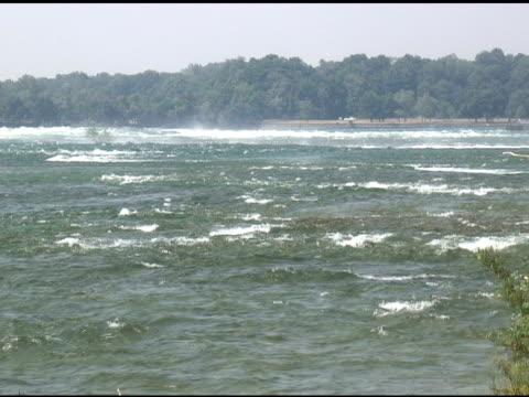 niagara 2-1: ntsc - river niagara stock videos & royalty-free footage