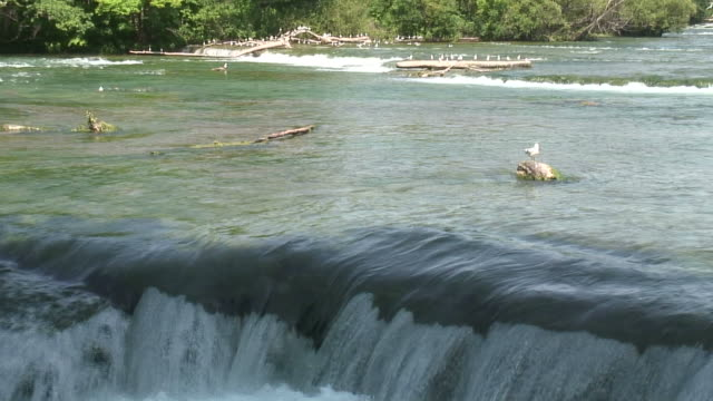 niagara 3-34: hd 1080/60i - niagara river stock videos & royalty-free footage