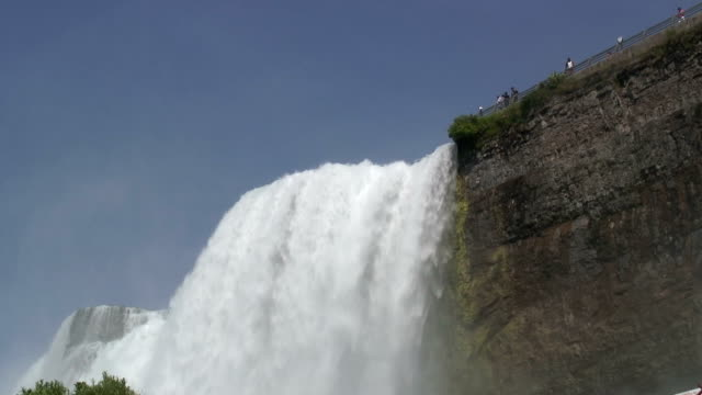 niagara 7-16: / hd 1080 60i - niagara falls city bundesstaat new york stock-videos und b-roll-filmmaterial