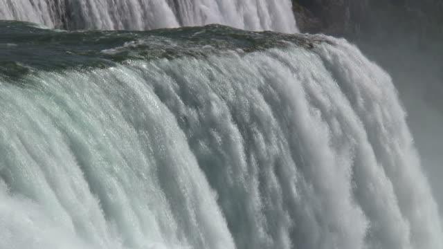 niagara 8-10: / hd 1080 60i - fiume niagara video stock e b–roll
