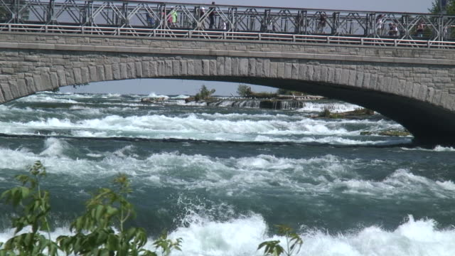 niagara 8-2: / hd 1080 60i - fluss niagara river stock-videos und b-roll-filmmaterial