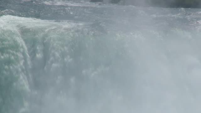 niagara 8-48: hd 1080/60i - fiume niagara video stock e b–roll
