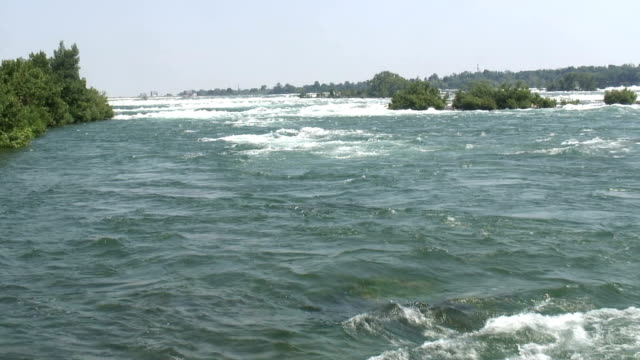 niagara 8-50: / hd 1080 60i - fluss niagara river stock-videos und b-roll-filmmaterial