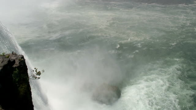niagara 8-55: hd 1080/60i - fiume niagara video stock e b–roll