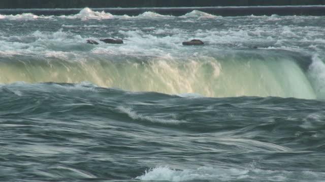 vidéos et rushes de niagara 8-71: hd 1080/60i - rivière niagara