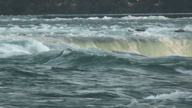 vidéos et rushes de niagara 8-72: hd 1080/60i - rivière niagara