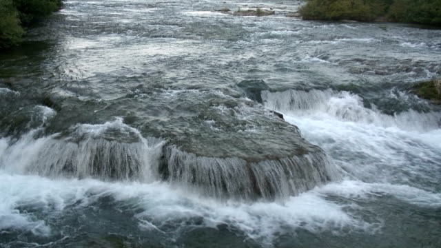 niagara 8-74: / hd 1080 60i - fluss niagara river stock-videos und b-roll-filmmaterial