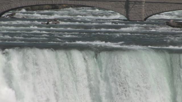 vidéos et rushes de niagara chutes américaines 29 au 30f haute définition - rivière niagara