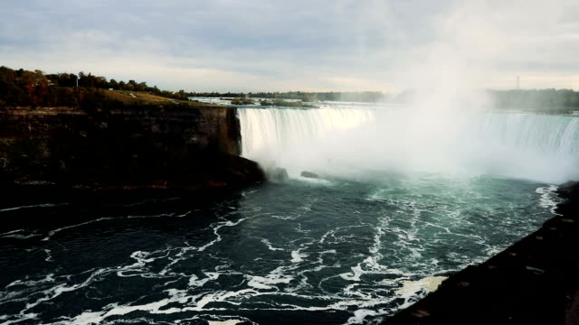 niagara falls - canada - north america - niagara falls video stock e b–roll