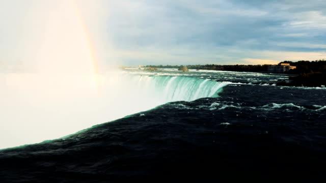 vidéos et rushes de niagara falls - canada - amérique du nord - rivière niagara