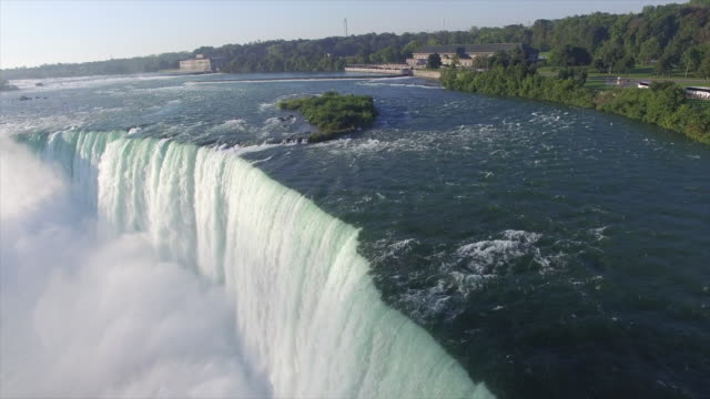 niagara falls in canada - niagara falls stock videos & royalty-free footage