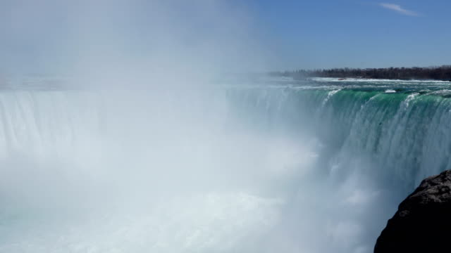 niagara falls in summer, ontario, canada. - niagara falls stock videos & royalty-free footage