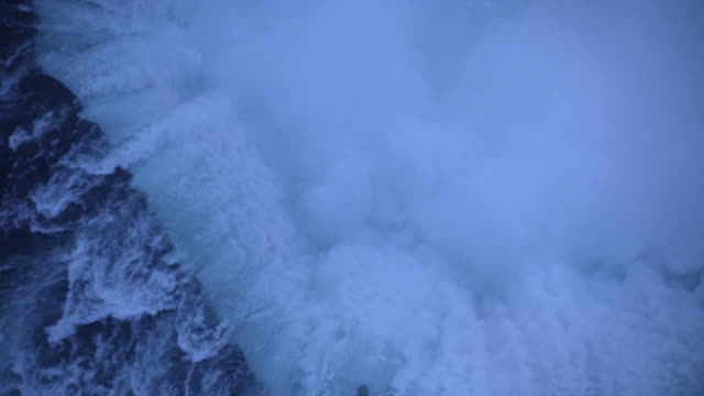 aerial, niagara falls, ontario, canada - natural landmark stock videos & royalty-free footage