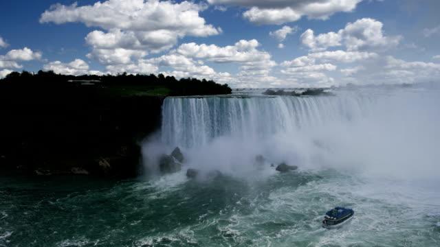 timelapse niagara falls - niagara falls video stock e b–roll
