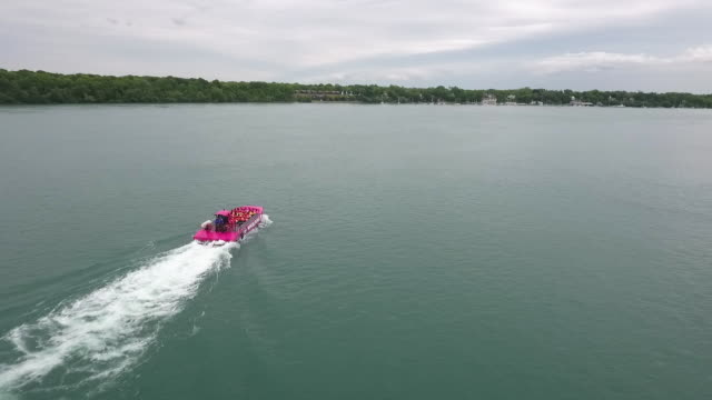 niagara falls tour boat - river niagara stock videos and b-roll footage