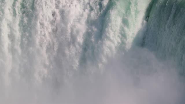 niagara falls uhd 4k video - città di niagara falls stato di new york video stock e b–roll