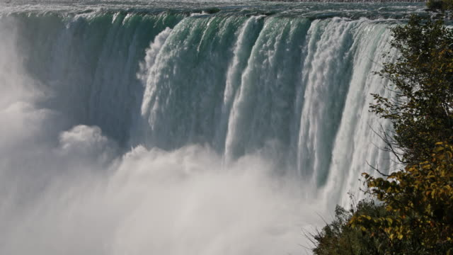 niagara falls uhd 4k video - niagara falls stock videos and b-roll footage
