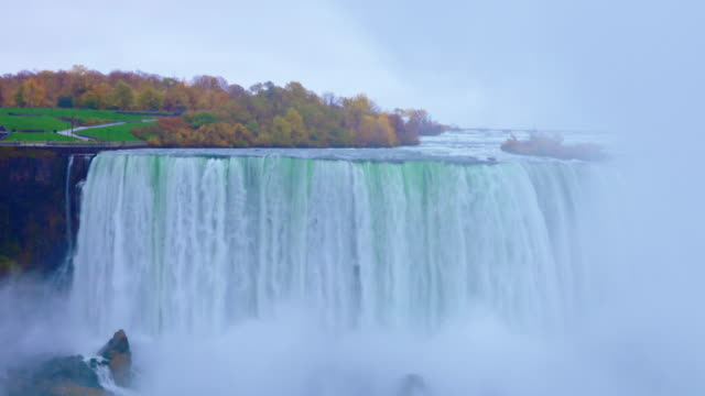 niagarafälle - usa / kanada - fluss niagara river stock-videos und b-roll-filmmaterial