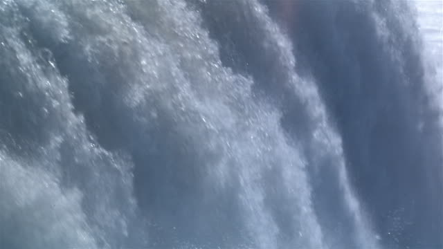 ecu, tu, niagara falls, usa/canada  - international border stock videos and b-roll footage