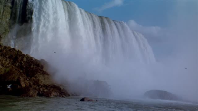 ms, niagara falls, usa/canada  - international border stock videos and b-roll footage